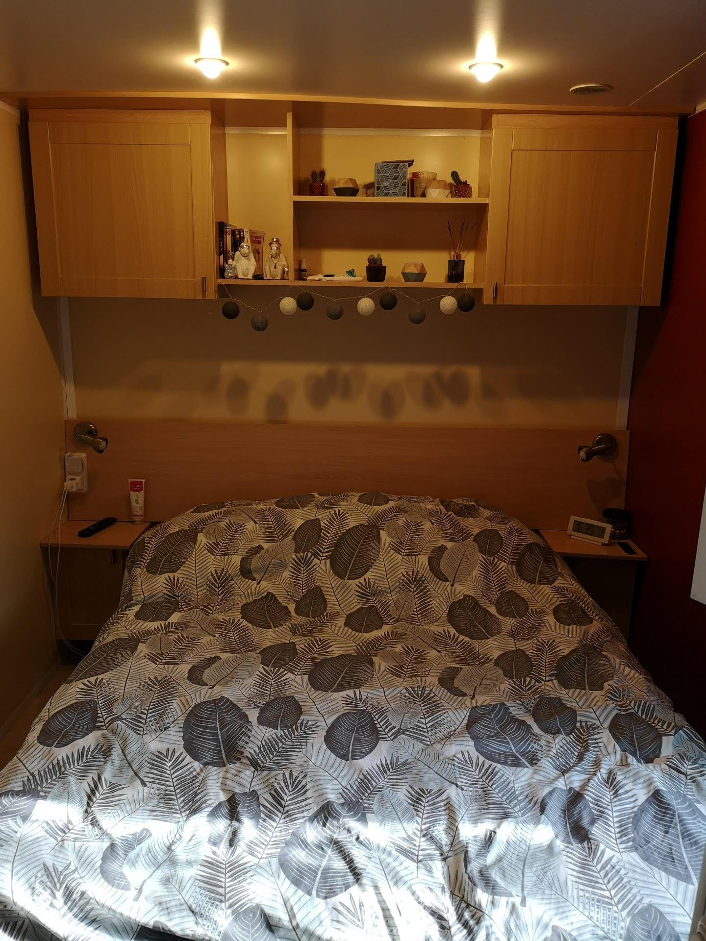 mobile home a vendre chambre