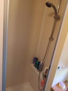 mobile home a vendre douche