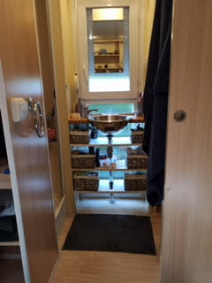 mobile home a vendre salle de bain